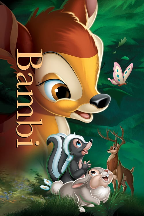 Bambi - Movie Poster