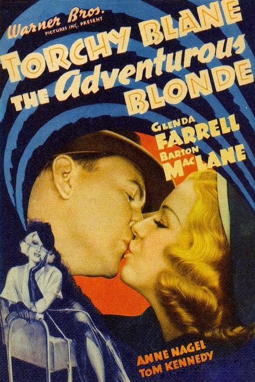 The Adventurous Blonde - Movie Poster
