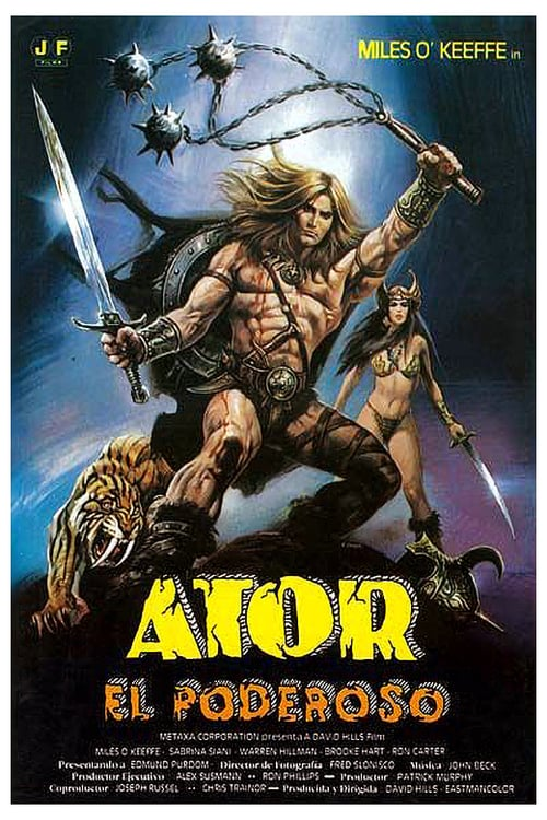 Ator, the Fighting Eagle - Movie Poster