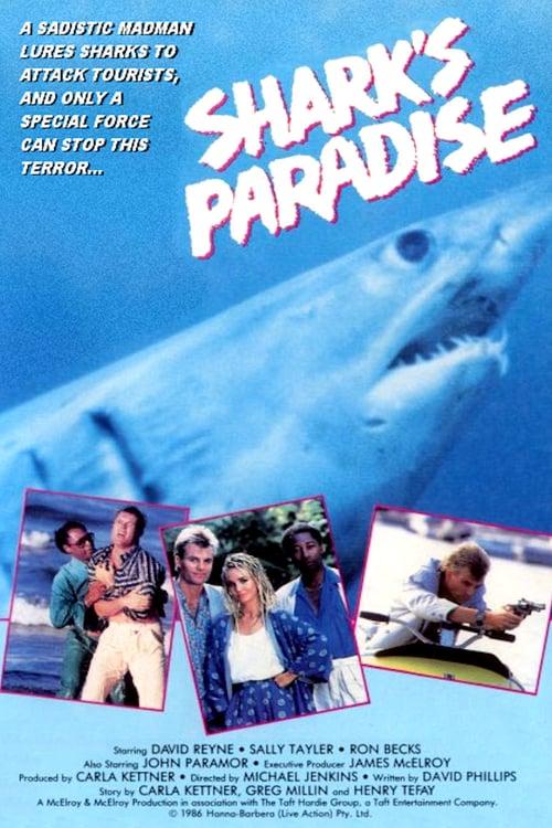 Shark's Paradise - Movie Poster