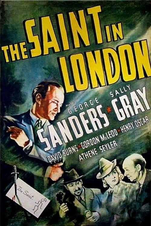 The Saint in London - Movie Poster