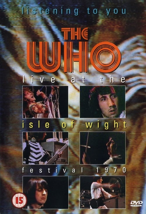 Listening to You: The Who Live at the Isle of Wight - Movie Poster