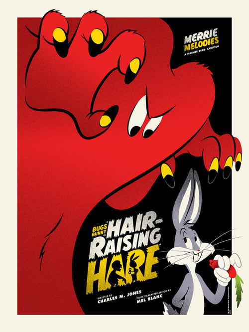 Hair-Raising Hare - Movie Poster