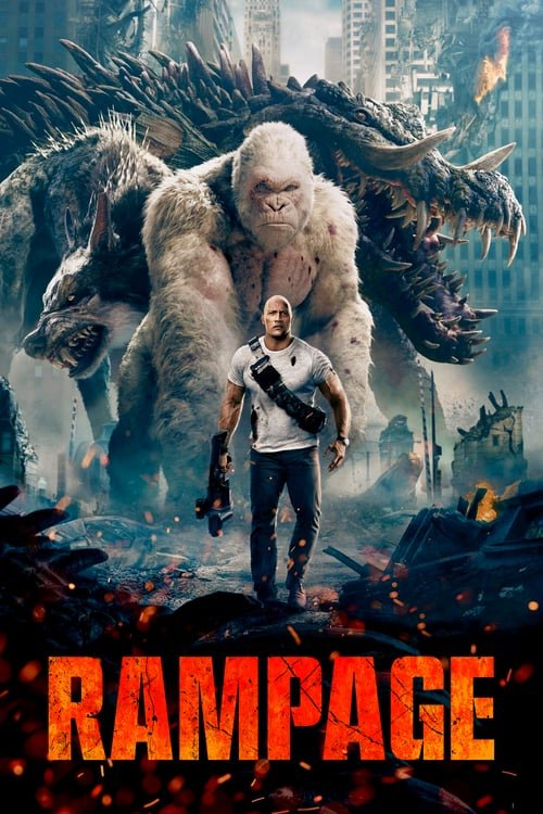 Rampage - Movie Poster