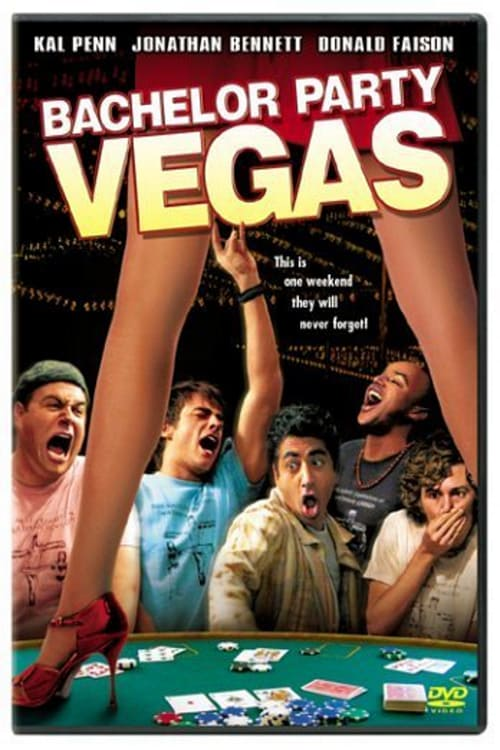 Bachelor Party Vegas - Movie Poster