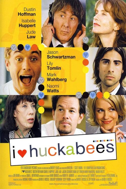 I ♥ Huckabees - Movie Poster