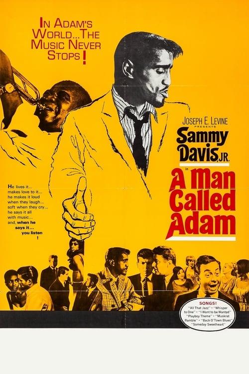 A Man Called Adam - Movie Poster