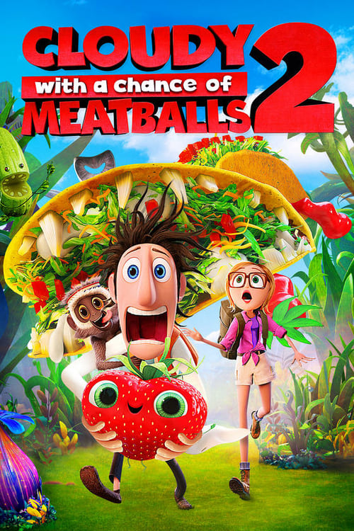 Cloudy with a Chance of Meatballs 2 - Movie Poster