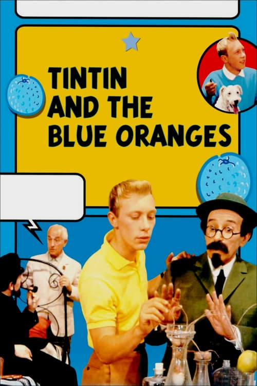 Tintin and the Blue Oranges - Movie Poster