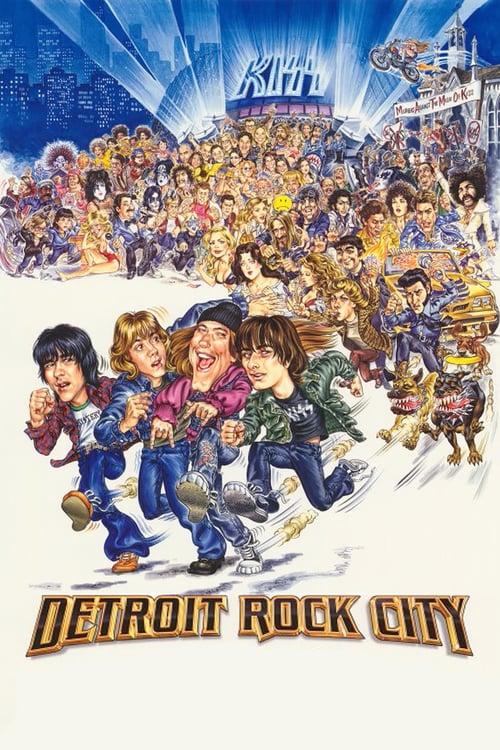 Detroit Rock City - Movie Poster