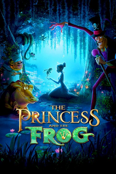 The Princess and the Frog - Movie Poster