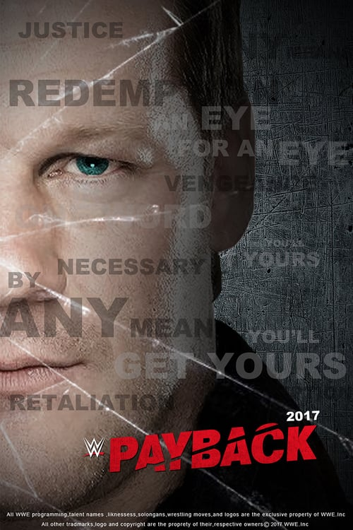 WWE Payback 2017 - Movie Poster
