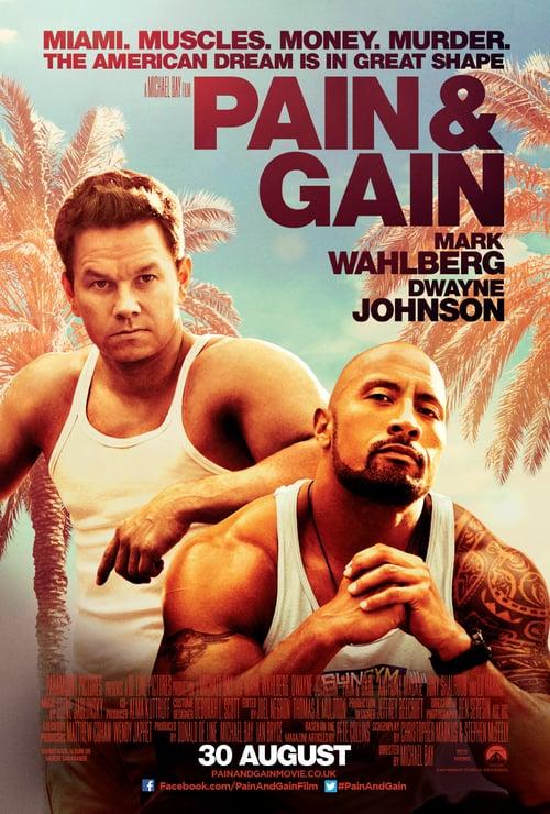 Pain & Gain - Movie Poster