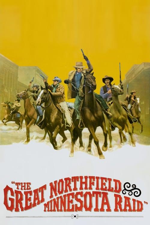 The Great Northfield Minnesota Raid - Movie Poster