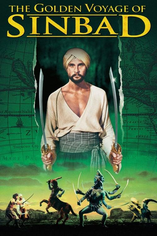 The Golden Voyage of Sinbad - Movie Poster
