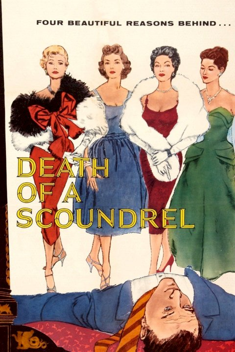 Death of a Scoundrel - Movie Poster