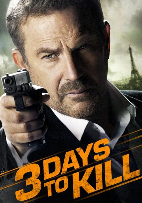 3 Days to Kill - Movie Poster