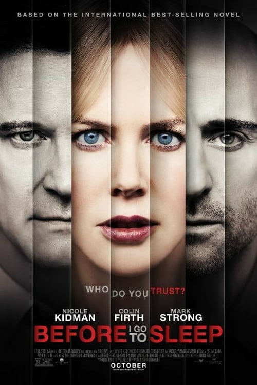 Before I Go to Sleep - Movie Poster