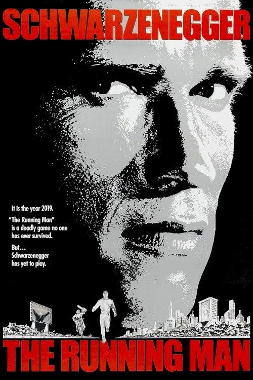 The Running Man - Movie Poster