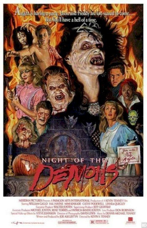 Night of the Demons - Movie Poster