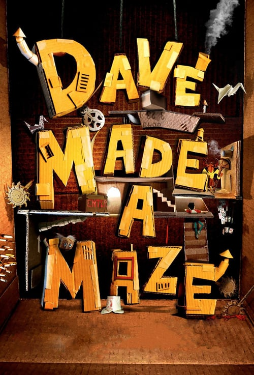 Dave Made a Maze - Movie Poster