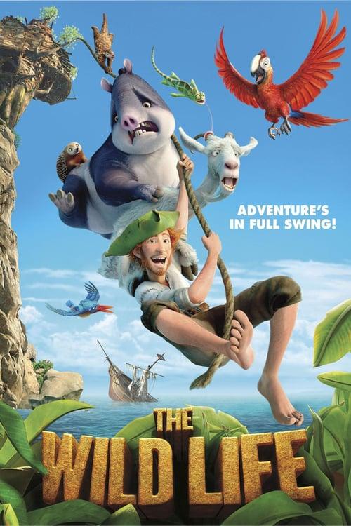Robinson Crusoe: The Wild Life - Movie Poster