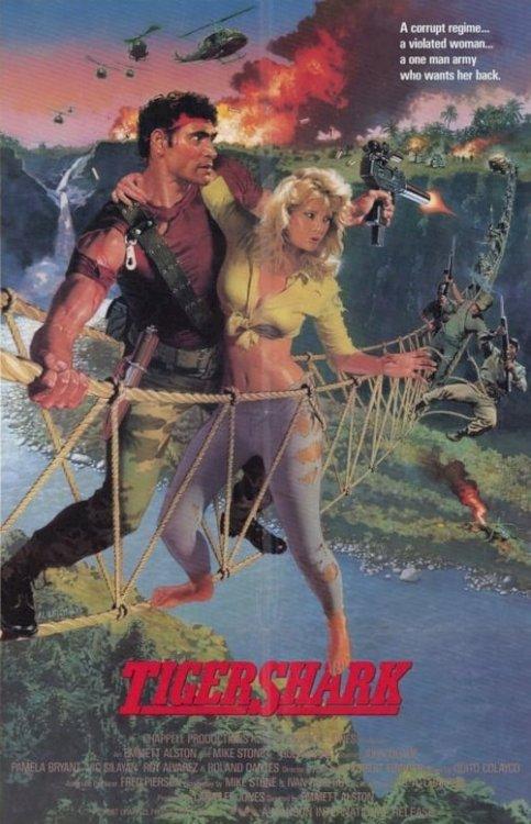 Tigershark - Movie Poster