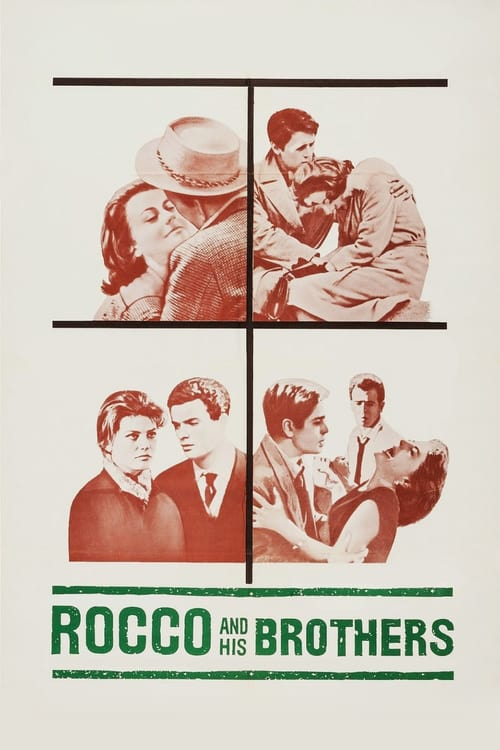 Rocco and His Brothers - Movie Poster