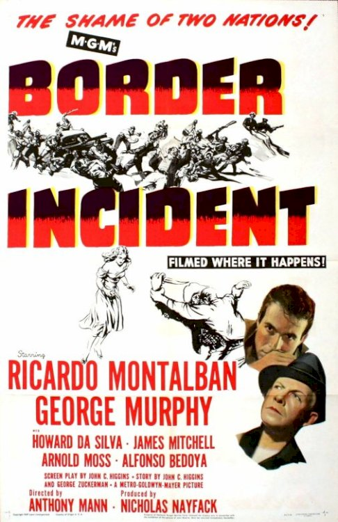 Border Incident - Movie Poster