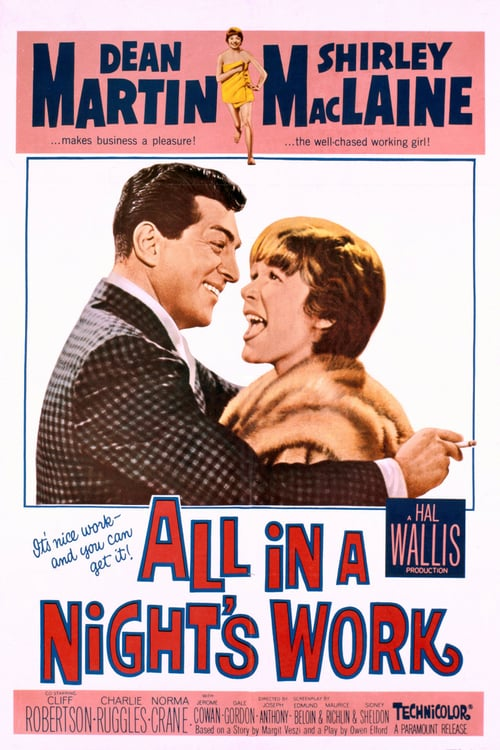 All in a Night's Work - Movie Poster