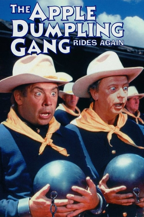 The Apple Dumpling Gang Rides Again - Movie Poster