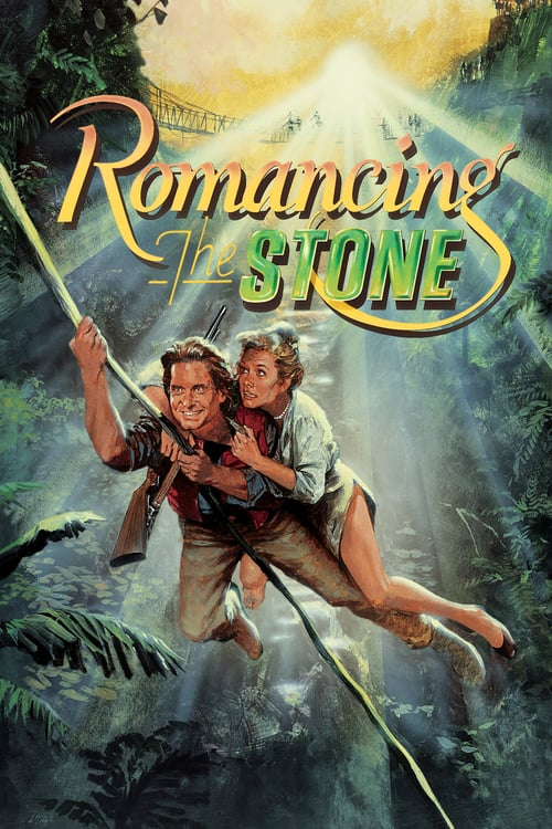 Romancing the Stone - Movie Poster