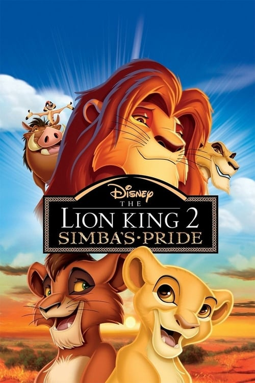 The Lion King II: Simba's Pride - Movie Poster