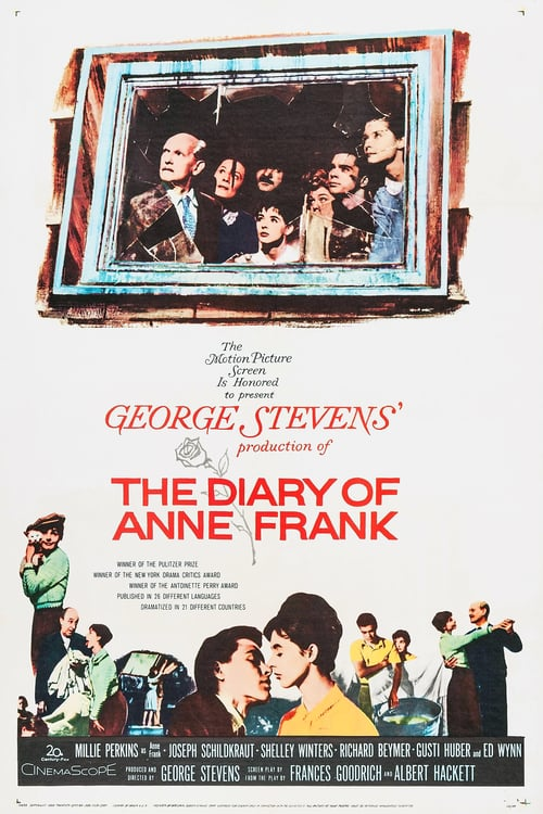 The Diary of Anne Frank - Movie Poster