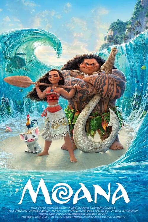 Moana - Movie Poster