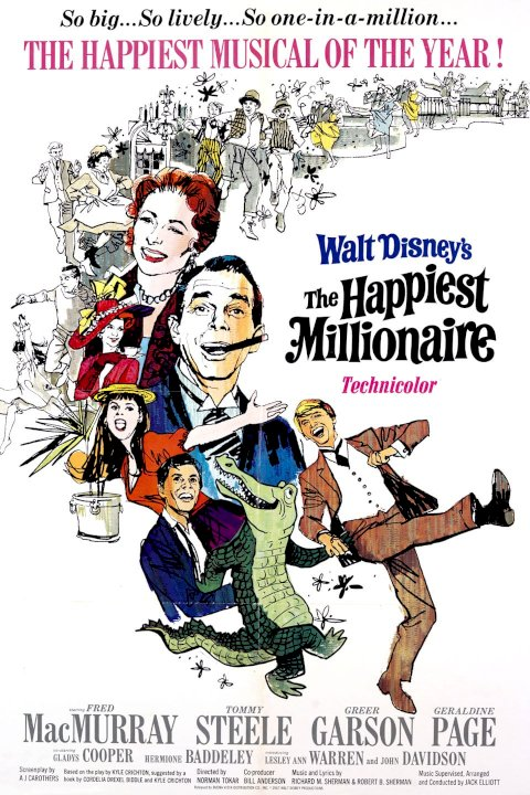 The Happiest Millionaire - Movie Poster