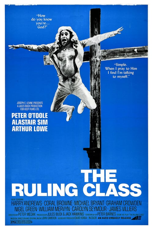 The Ruling Class - Movie Poster