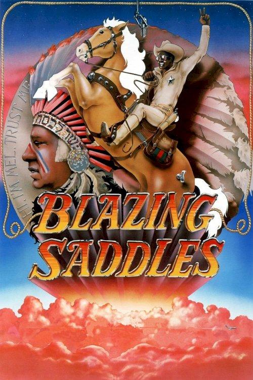 Blazing Saddles - Movie Poster