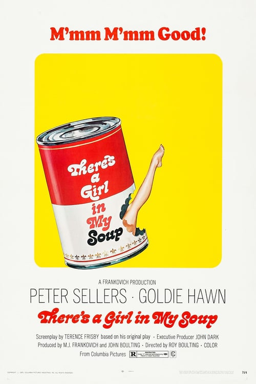There's a Girl in My Soup - Movie Poster
