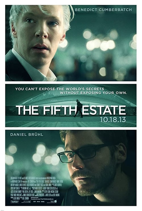The Fifth Estate - Movie Poster
