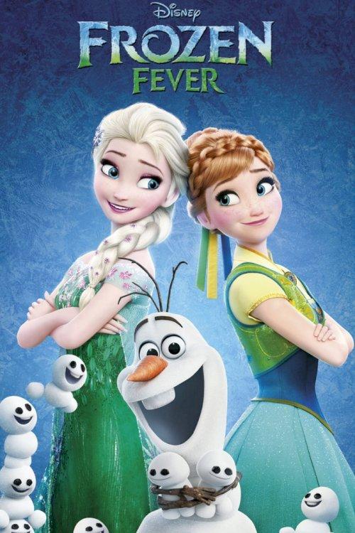 Frozen Fever - Movie Poster