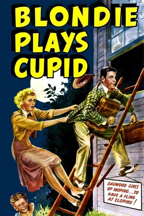Blondie Plays Cupid - Movie Poster