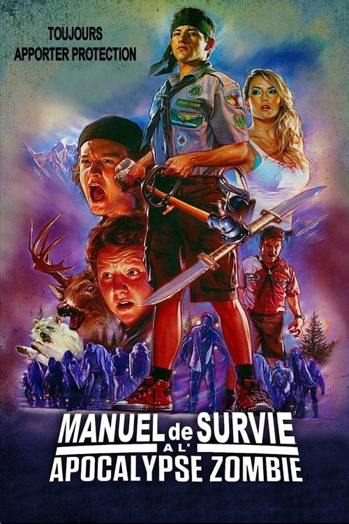 Scouts Guide to the Zombie Apocalypse - Movie Poster