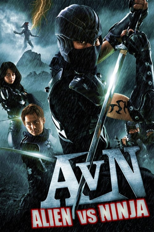 Alien vs. Ninja - Movie Poster