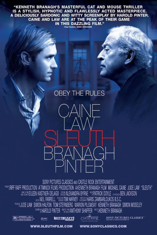 Sleuth - Movie Poster