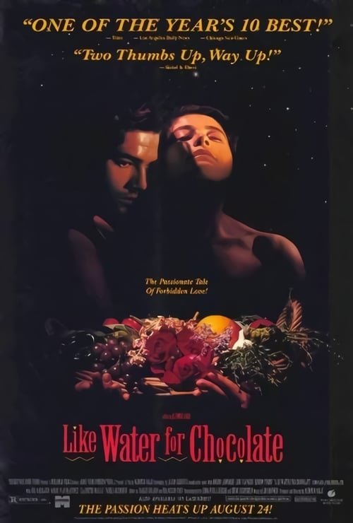 Like Water for Chocolate - Movie Poster