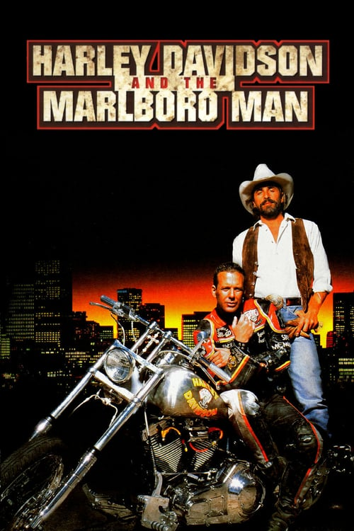 Harley Davidson and the Marlboro Man - Movie Poster