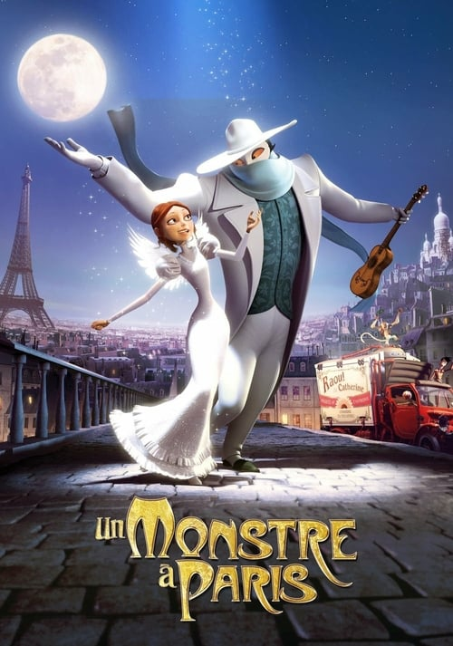A Monster in Paris - Movie Poster