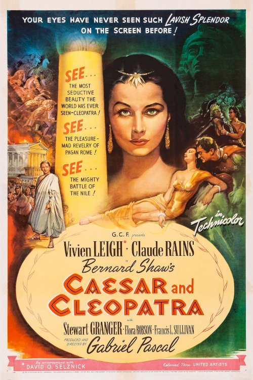 Caesar and Cleopatra - Movie Poster