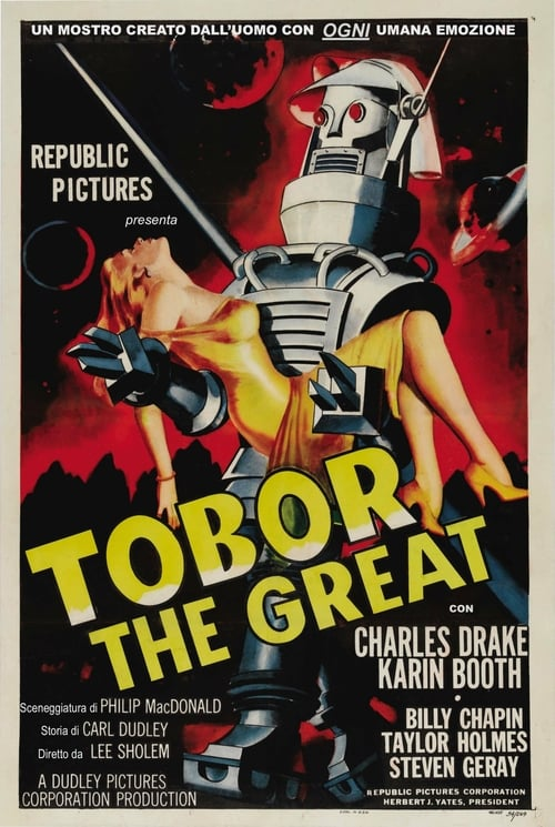 Tobor the Great - Movie Poster